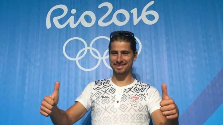 Peter Sagan ya está en Río para la prueba de Mountain Bike