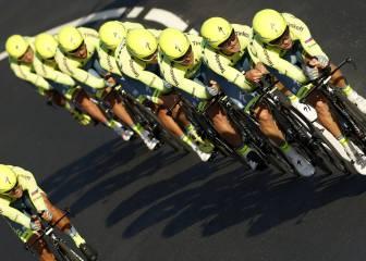 Las imágenes de la primera etapa de la Vuelta a España 2016