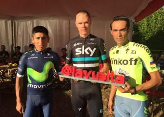 Contador, Nairo Quintana, Froome... un Tour por España