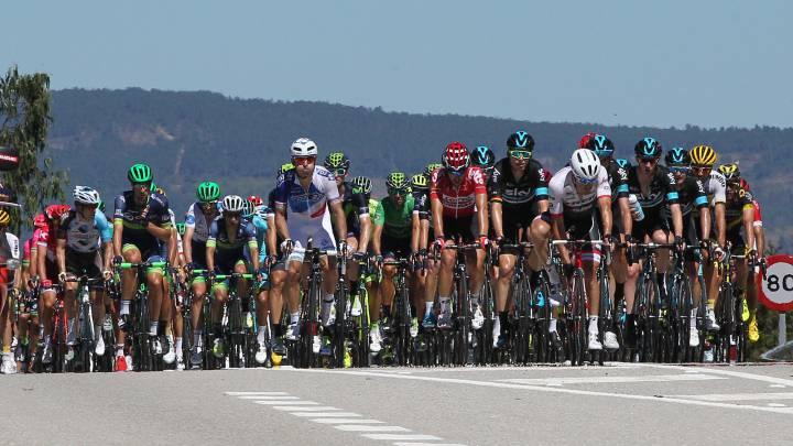 La segunda etapa de la Vuelta a España en imágenes