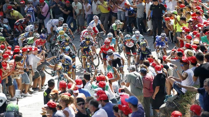 Cómo ver la primera llegada en alto de La Vuelta: Ézaro