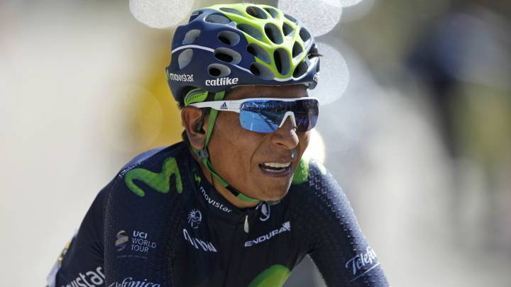 "Nairo Quintana: ""Ha sido una etapa dura, con mucho calor"""