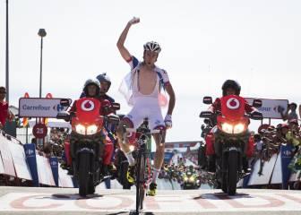 La tercera etapa de la Vuelta a España en imágenes
