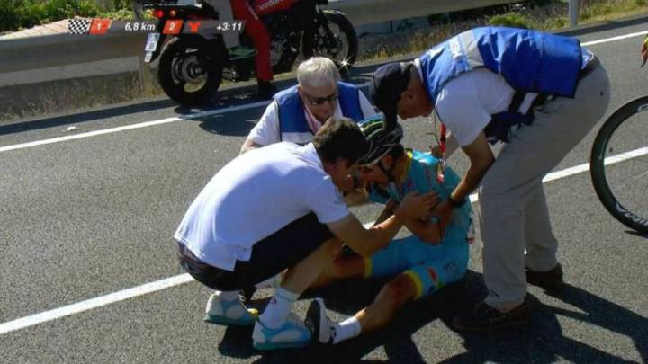 'Superman' López se subirá a la bici en la 4ª etapa de la Vuelta