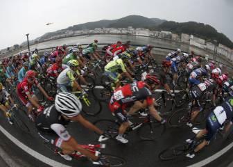 La quinta etapa de la Vuelta a España en imágenes