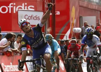 Meersman repite triunfo en la accidentada llegada de Lugo