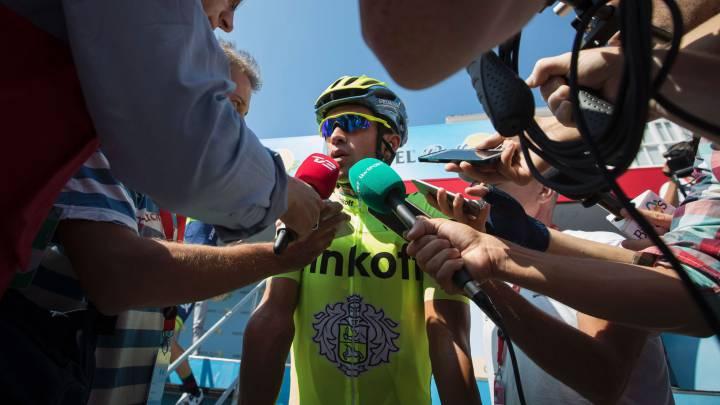 """Contador: """"No doy nada por perdido, seguiré en la pelea"""""""