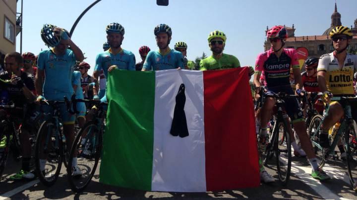 Minuto de silencio por Italia y sin protestas por el bolardo