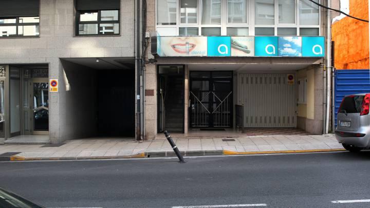 """""""En la calle Castelao había cinco bolardos sin señalizar"""""""
