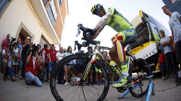Contador luce varios vendajes en la salida de Villalpando