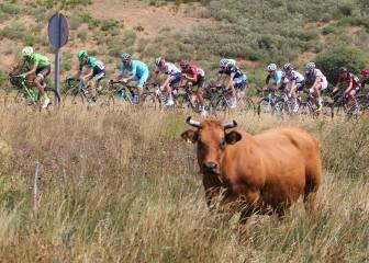 La novena etapa de La Vuelta en imágenes