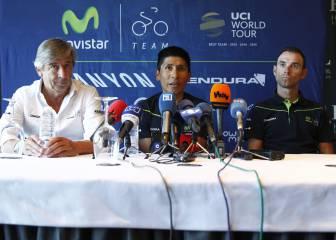 Nairo y Contador se posicionan contra el uso del potenciómetro