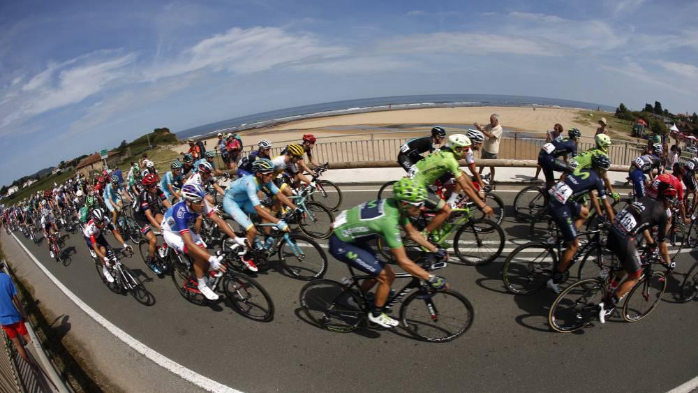 La undécima etapa de La Vuelta en imágenes