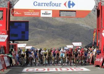Comisarios y organización repescaron a 93 ciclistas