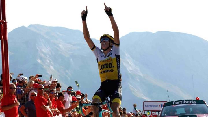 Robert Gesink, uno de los reyes de la montaña en la Vuelta