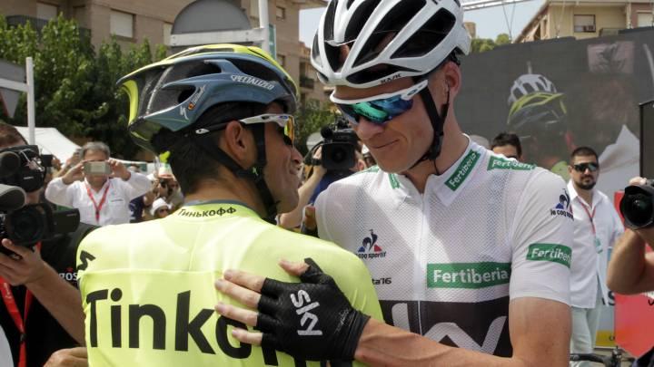 Contador y Froome, ante la gran crono: \