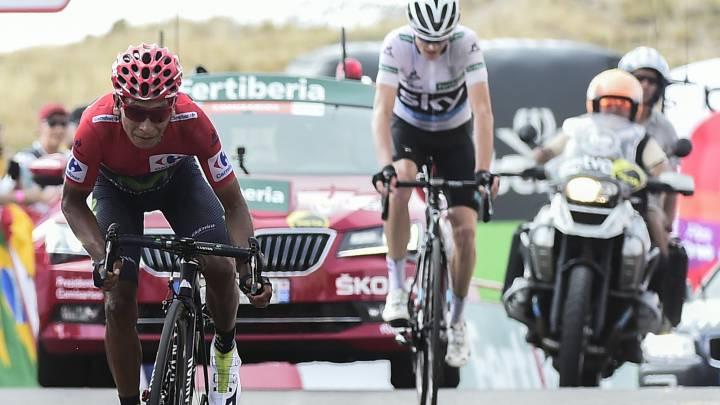 Nairo Quintana resiste el asedio de Froome y gana la Vuelta 2016