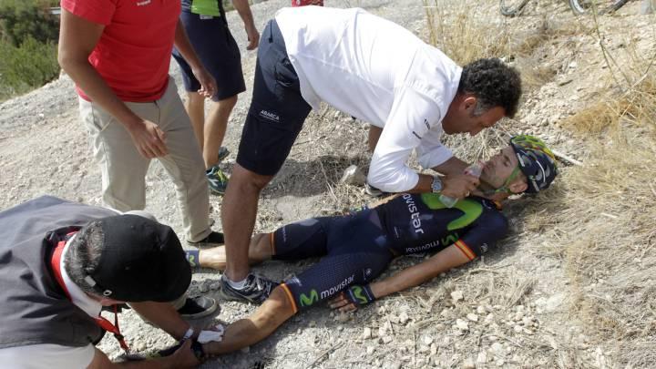 Rojas, fractura abierta de tibia y peroné tras su grave caída