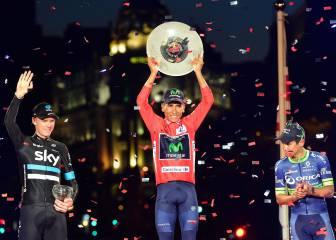Nairo Quintana dobla grande: ya tiene un Giro y una Vuelta