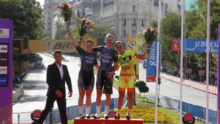 D'Hoore gana al sprint en Madrid y Guarnier, el World Tour