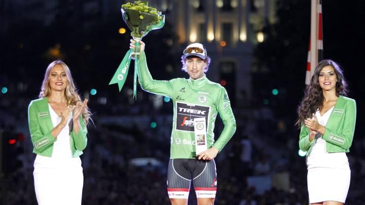 Felline: de su caída en la Amstel a jersey verde de la Vuelta