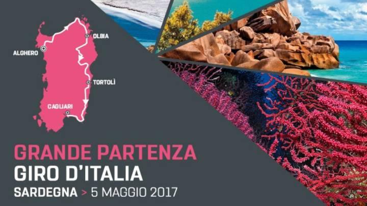 La isla de Cerdeña acogerá la salida del Giro de Italia 2017