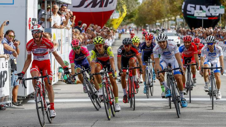 Francesco Gavazzi se impone en el memorial Marco Pantani
