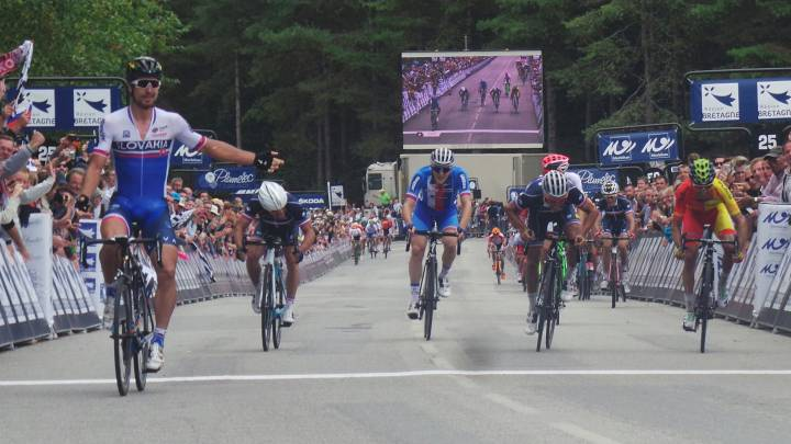 Sagan es campeón de Europa y Dani Moreno se lleva el bronce