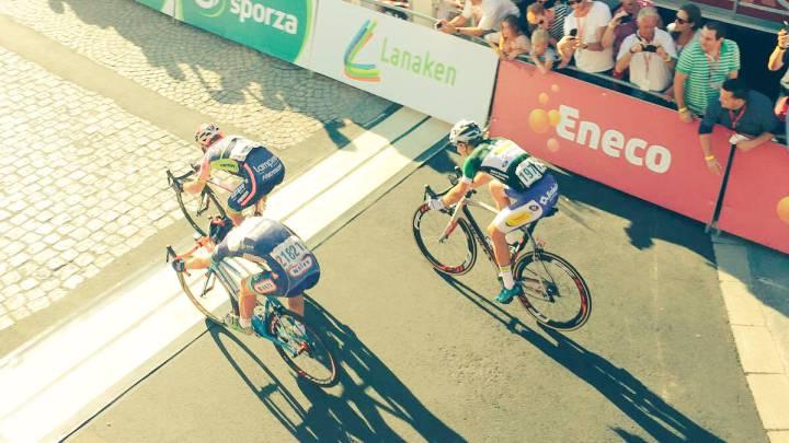 Pibernik dio la campanada en la sexta etapa del Eneco Tour