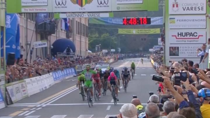Colbrelli se impone al sprint en los Tres Valles Varesinos