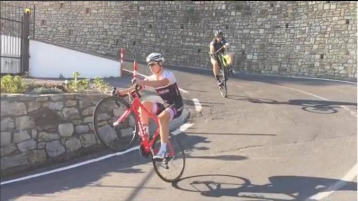 Sagan ya tiene rival a la hora de hacer malabares: Bonifazio
