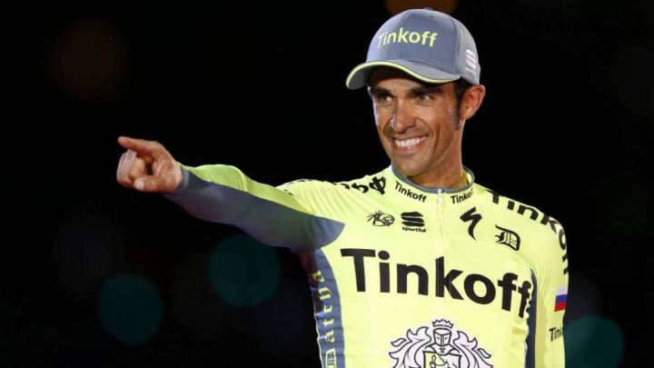 Alberto Contador no tomará la salida en Lombardía por fiebre