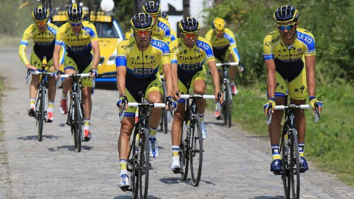 Sergio Paulinho raja de Alberto Contador: 'Aún espero su llamada'