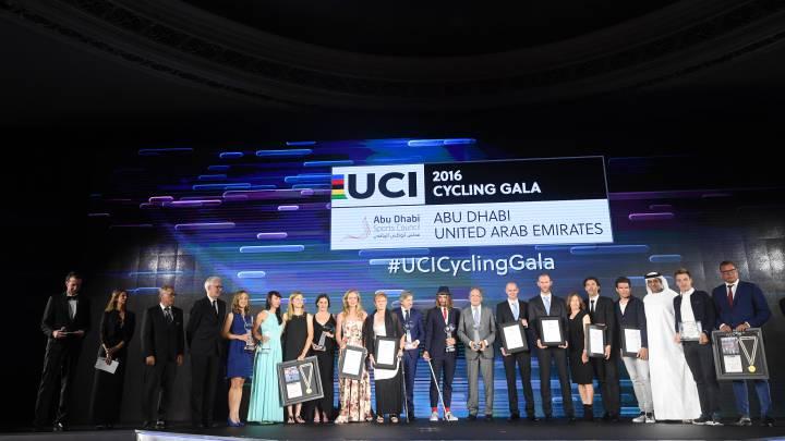 Gala UCI: Sagan sigue con su show y Movistar, mejor equipo