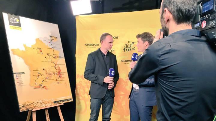 """Froome: """"El recorrido del Tour 2017 es para los escaladores"""""""