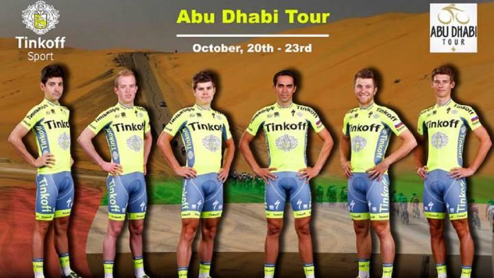 Contador liderará por última vez al Tinkoff en Abu Dhabi
