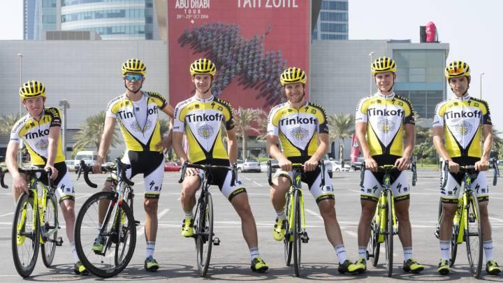 Contador lidia sin estrés los insultos de su patrón Tinkov