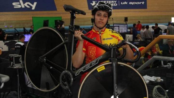 Tania Calvo acaricia el bronce en los Europeos en pista