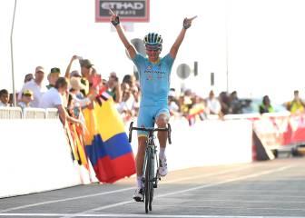 Kangert gana en Jebel Hafeet y Contador, quinto a 50 segundos