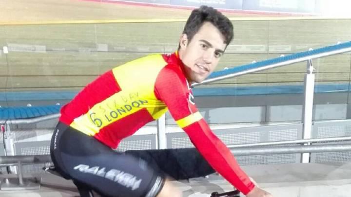 Albert Torres compitió con una bici prestada en los Seis Días