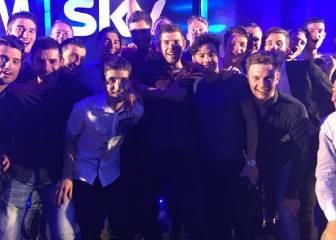 El Sky premia a Froome, Poels y Viviani por su gran año 2016