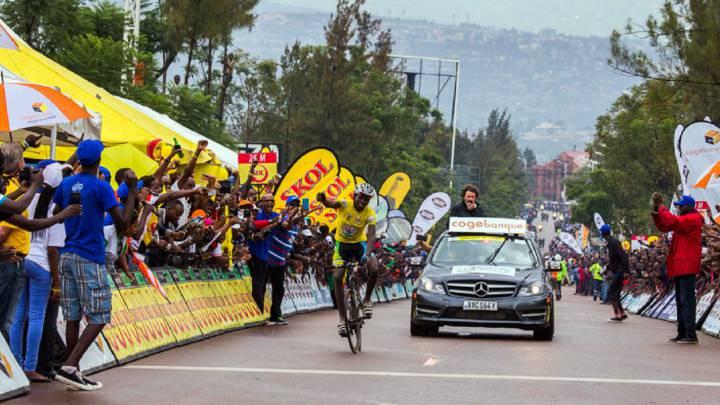Ndayisenga, el ciclista ruandés que quiere ser como Contador