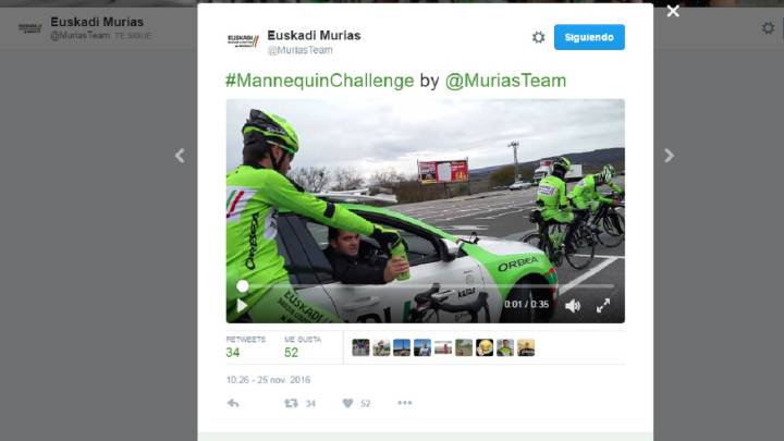 El Murias se apunta a la moda del Mannequin Challenge