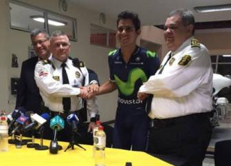 Amador se reunió con el policía que le multó y le pidió perdón