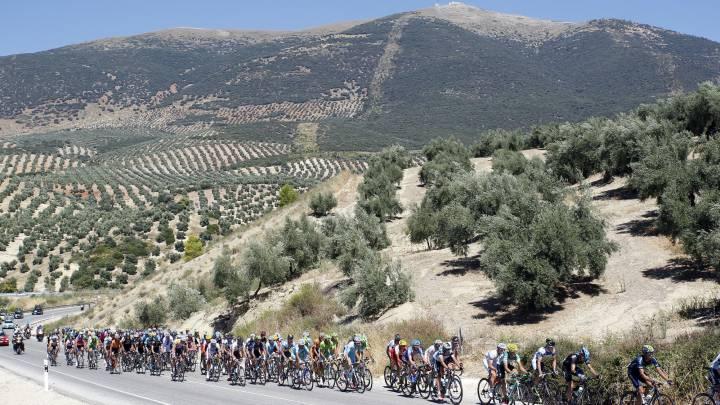 Andalucía tendrá mucho peso en la Vuelta: tres llegadas en alto