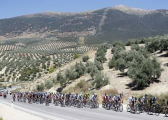 Andalucía tendrá mucho peso en la Vuelta: tres metas en alto
