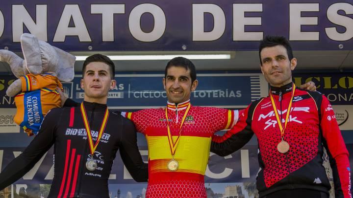 Ismael Esteban logra su primer título nacional de ciclocross