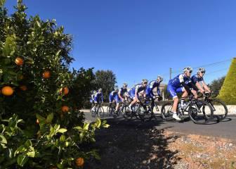 Los equipos World Tour eligen España para las pretemporadas