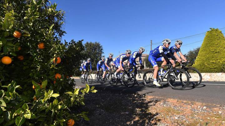 Los equipos World Tour eligen España para sus pretemporadas