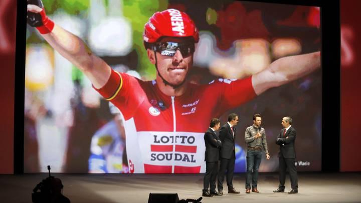 La Vuelta rindió homenajes a Purito Rodríguez y Boeckmans